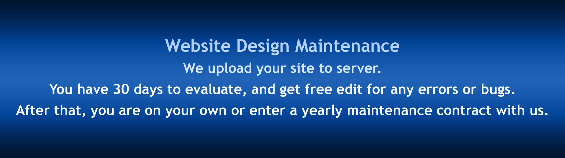 Slide 6 - Website Design Maintenance