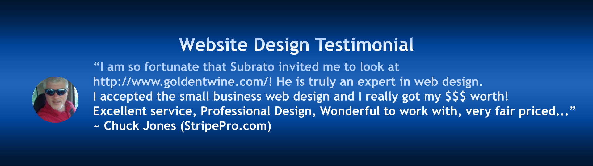 Slide 7 - Website Design Testimonials and Endorsements